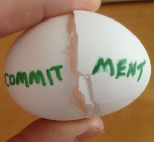 broken commitment